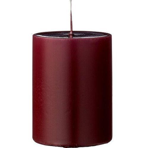 Świeca 10 cm czerwona marki Bloomingville