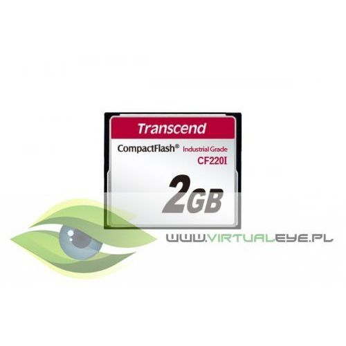 Transcend Cf card 2gb 40/42 mb/s cf220i