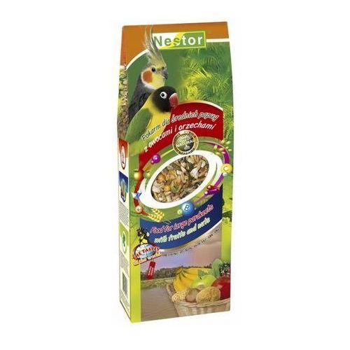 pokarm papuga średnia owoce, orzechy 700ml wyprodukowany przez Nestor