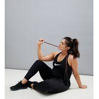 Nike plus power racer leggings in black - black, Nike training, XXL-XXXL