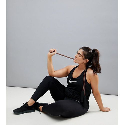 Nike plus power racer leggings in black - black, Nike training, XXL-XXXL