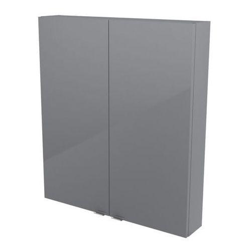 Szafka wisząca GoodHome Imandra 80 x 90 x 15 cm szara, CF112002