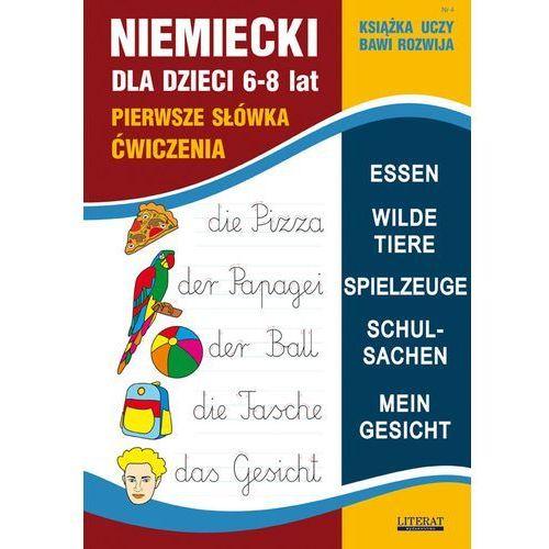 Niemiecki dla dzieci Zeszyt 4 - von Basse Monika, Bednarska Joanna, oprawa miękka