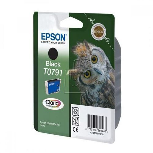 Epson  oryginalny ink c13t079140, black, 11,1ml, epson stylus photo 1400