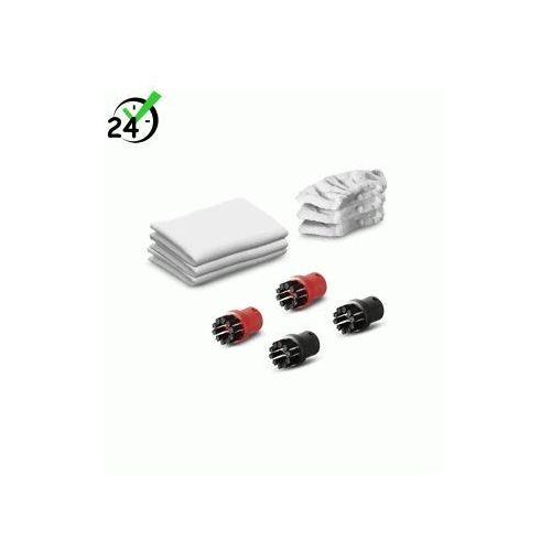 Karcher Zestaw ściereczek (6szt) i szczotek (4szt) do sc, si, zestaw uniwersalnych akcesoriów, negocjuj cenę! => 794037600, odbiór osobisty, dowóz!