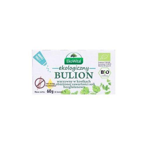Eko wital Bulion warzywny w kostkach o obniżonej zawartości soli bez oleju palmowego bezgl. bio 60 g