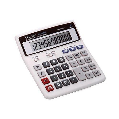 Kalkulator VECTOR DK209DM 12 pozycyjny. Najniższe ceny, najlepsze promocje w sklepach, opinie.