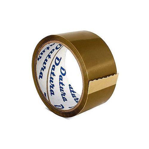 Taśma pakowa solventowa 48mm x 50y Datura brązowa - produkt z kategorii- Akcesoria do pakowania