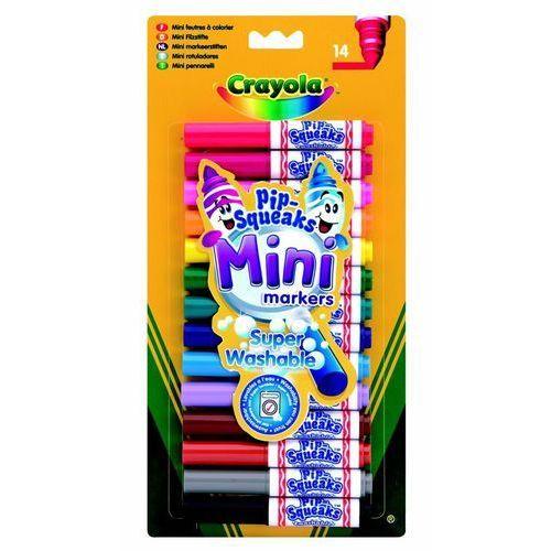 Markery spieralne mini 14 sztuk marki Crayola