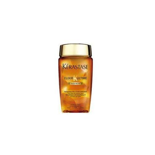 elixir ultime oleo-riche bain | odżywcza kąpiel do włosów normalnych i grubych - 250ml marki Kerastase