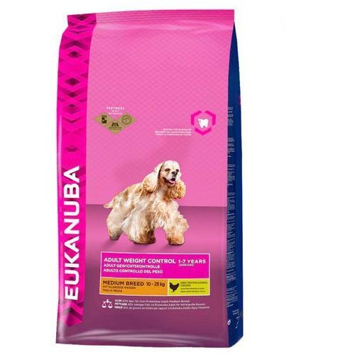 EUKANUBA Adult Medium Weight Control 3kg (0190142033760)