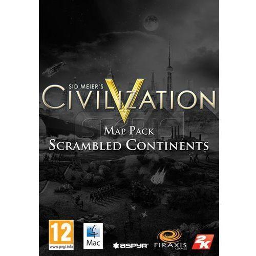 Civilization 5 Scrambled Continents Map Pack [strategia]