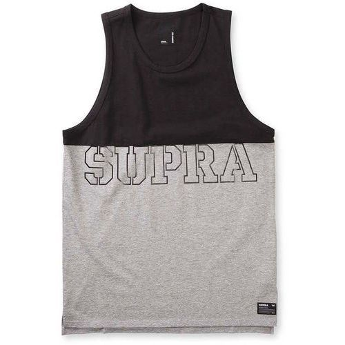 podkoszulka SUPRA - Block Tank Black/Heather Grey (020) rozmiar: L