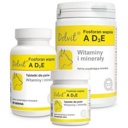 Tabletki Dolvit Fosforan wapnia AD3E 90 tabletek