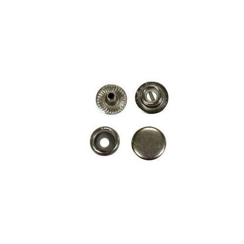Napa Zatrzask Zapięcie 12 mm srebrny