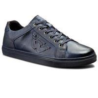 Sneakersy WOJAS - 6016-56 Granatowy