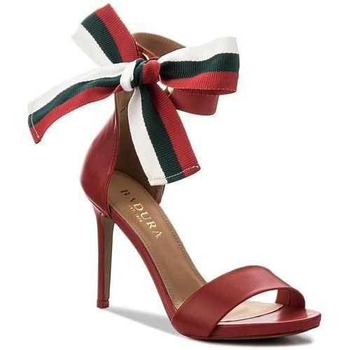 Sandały BADURA - 4646-69 Czerwony 1207, 36-39