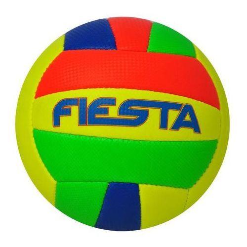 Axer Sport, Fiesta, piłka siatkowa, żółto-niebiesko-pomarańczowo-zielona, rozmiar 5 z kategorii siatkówka