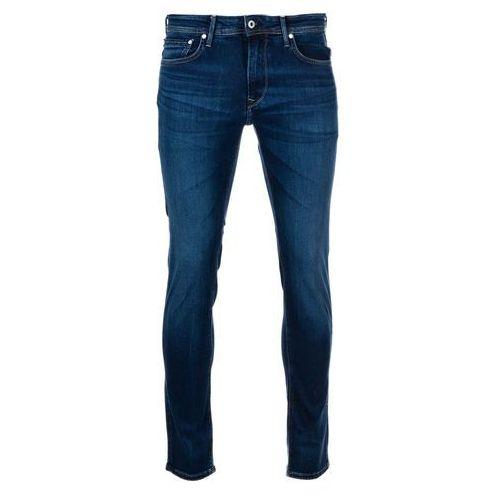 Pepe jeans jeansy męskie stanley 33/34, ciemny niebieski
