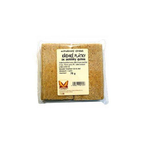 Chleb chrupki z Quinoa 75 g - NATURAL z kategorii Pieczywo, bułka tarta