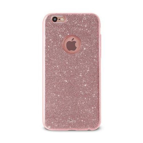Etui  glitter shine cover do iphone 6/6s różowy marki Puro