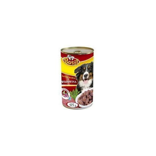 Karma dla psa z wołowiną Basil 415g