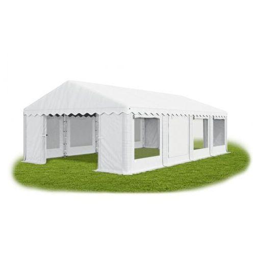 4x8x2m, solidny namiot bankietowy, handlowy, imprezowy z moskitierą, konstrukcja winter/pe 32m2 marki Das company