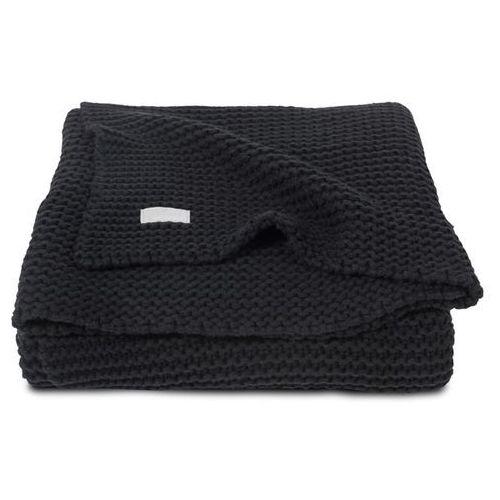 Jollein - koc heavy knit czarny 75x100cm