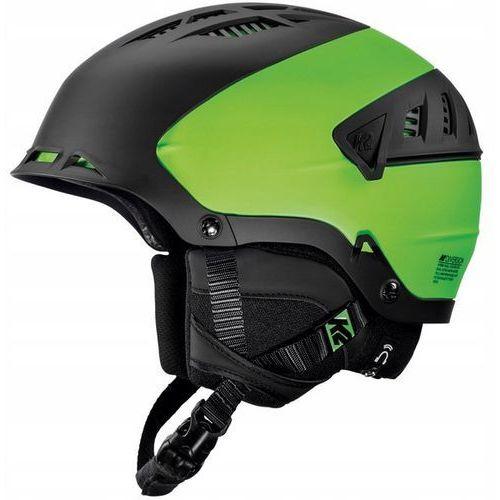K2 Kask narciarski diversion czarny/zielony l/xl (58-62 cm ) 10a4000/31 audio
