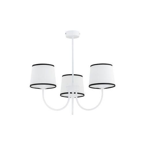 Lemir Lume O2793 W3 BIA plafon lampa sufitowa żyrandol 3x60W E27 biały mat (5902082868811)