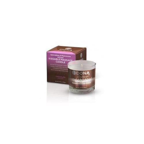 Jadalna świeca do masażu - kissable massage candle chocolate mousse czekoladowa marki Dona