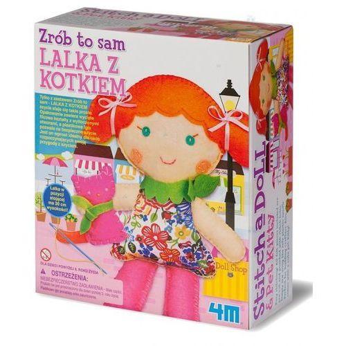 Russell Zrób to sam lalka z kotkiem 4m - hity wiecejzabawek.pl. szybka wysyłka - 100% zadowolenia. sprawdź już dziś! (4893156027665)