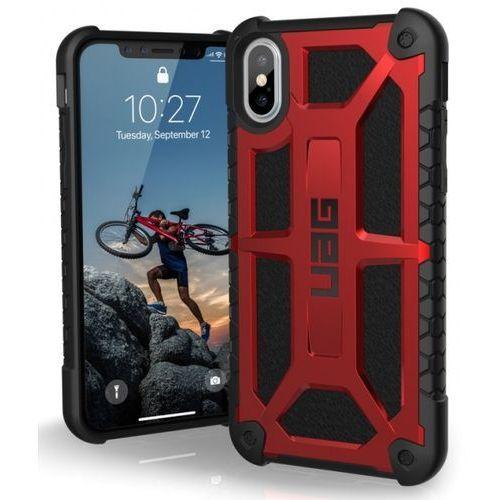Etui URBAN ARMOR GEAR Monarch do iPhone X Czerwony + DARMOWY TRANSPORT!, kolor czerwony