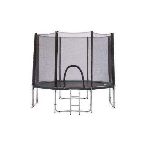 244 cm - trampolina ogrodowa z siatką zabezpieczającą + drabinka marki Athletic24