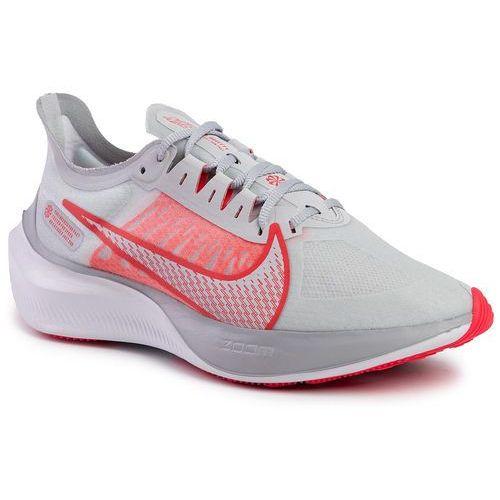 Nike Buty - zoom gravity bq3203 003 pure platinum/white/red orbit