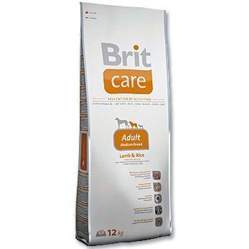 care adult medium breed lamb & rice – karma dla psów dorosłych ras średnich, 1 kg marki Brit