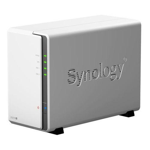 ds218j - serwer / macierz nas na 2x hdd w obudowie box marki Synology