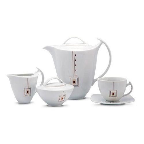 Florentyna Serwis do kawy akcent maron 12/27 g165 -ćmi (5907710047811)