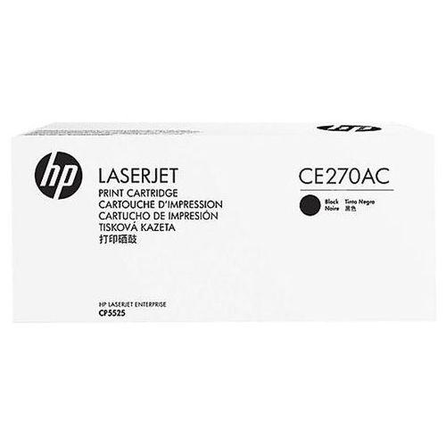 HP toner Black nr 650A, CE270AC (opakowanie korporacyjne), CE270AC