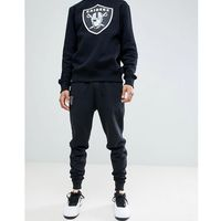 New Era Oakland Raiders Joggers With Small Logo In Black - Black, w 4 rozmiarach