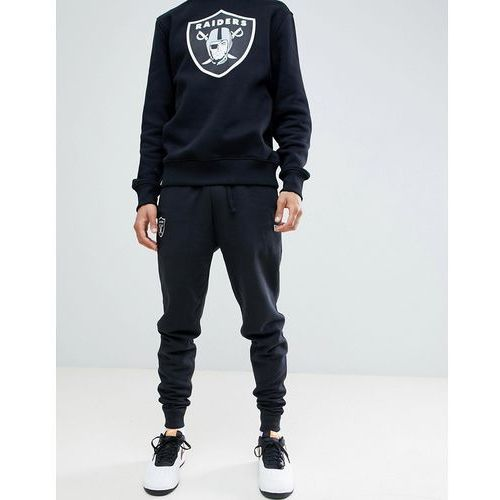 New Era Oakland Raiders Joggers With Small Logo In Black - Black, w 5 rozmiarach
