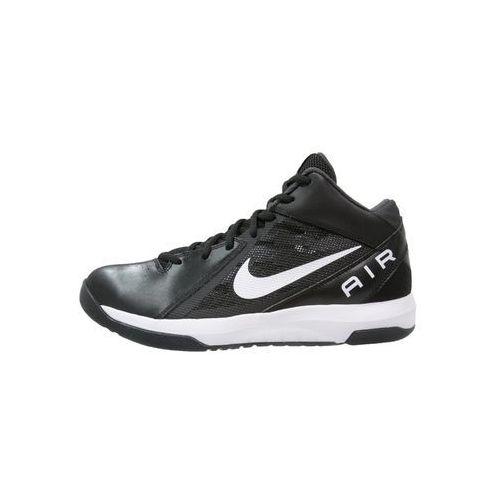 Nike Performance THE AIR OVERPLAY IX Obuwie do koszykówki black/white/anthracite/dark grey (0886551764338)