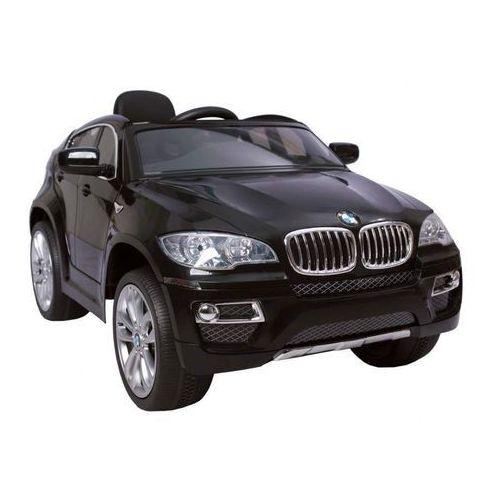 HECHT BMW X6 BLACK SAMOCHÓD TERENOWY ELEKTRYCZNY AKUMULATOROWY AUTO JEŹDZIK POJAZD ZABAWKA DLA DZIECI + PILOT DYSTRYBUTOR - AUTORYZOWANY DEALER HECHT (8595614923323)