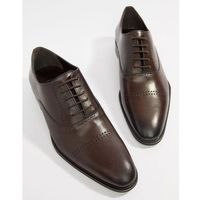 brogues in brown hi-shine leather - brown marki Dune