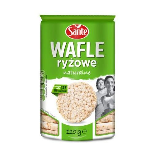 Sante Wafle ryżowe naturalne 110 g (5900617014658)