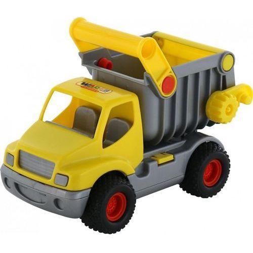 "Wader Polesie 407 ""construck"", wywrotka żółta (w siatce) (407 polesie) (4810344010407)"