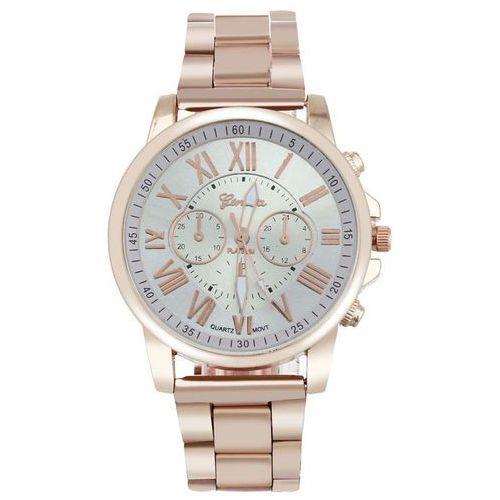 Geneva Zegarek bransoleta złoty biały - white ||biały