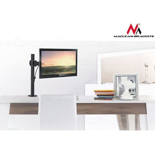 "Maclean Uchwyt biurkowy do monitora lcd mc-690 13""-27"" 8kg vesa 75x75 oraz 100x100 (5902211103233)"