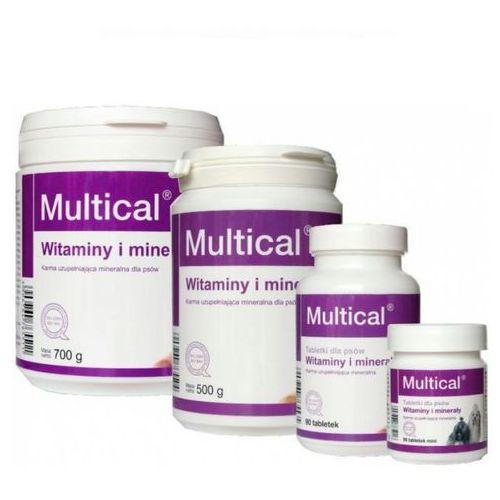DOLFOS Multical witaminowo-mineralny suplement diety dla psów op.90tabl.-1kg