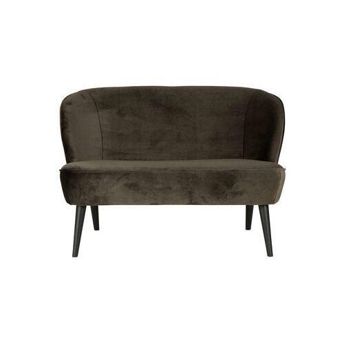 sofa sara mała aksamitna zielona 340443-156 marki Woood